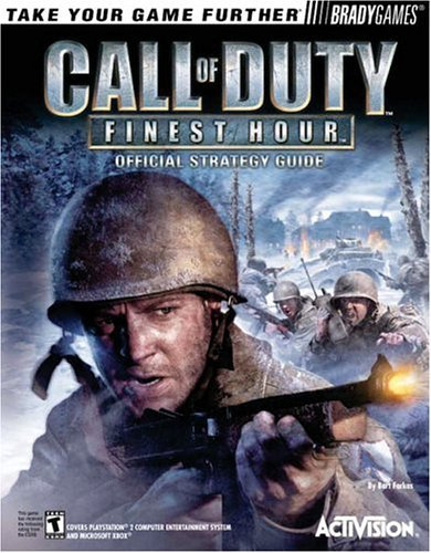 Bradygames Call Of Duty Finest Hour Official Strategy Guide