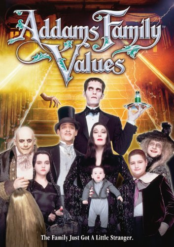 Addams Family Values Huston Julia Lloyd Cusack Kane Ws Pg13