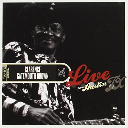 'gatemouth' Clarence Brown Live From Austin Tx Incl. DVD