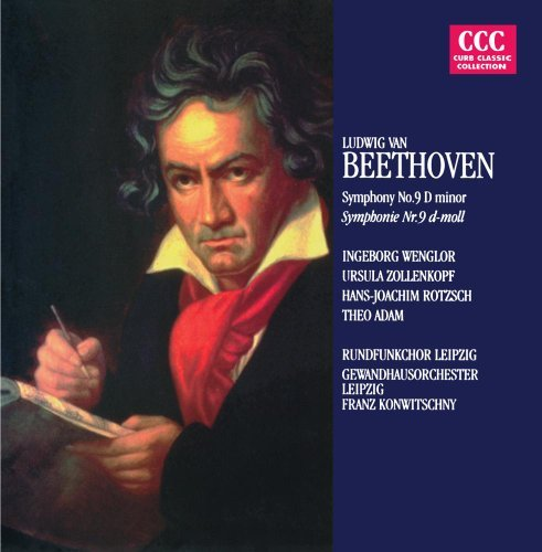 Beethoven Konwitschny Symphony 9 CD R