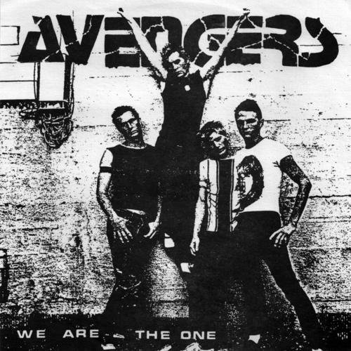 Avengers We Are The One Ep 7 Inch Single Blue Vinyl Lmtd Ed.