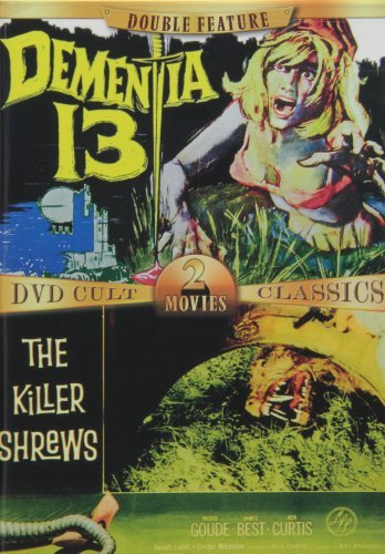 Dementia 13 Killer Shrews DVD Cult 2 Movies Classics Clr Nr 2 On 1 Amaray Boxed