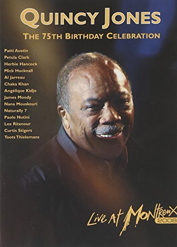 Quincy Jones 75th Birthday Celebration Liv 2 DVD