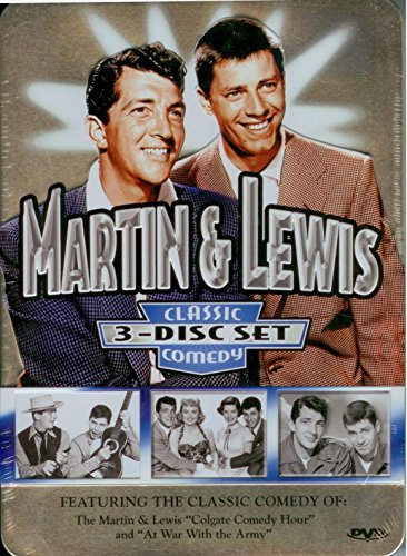 Martin & Lewis Classic Comedy Collectors Tin