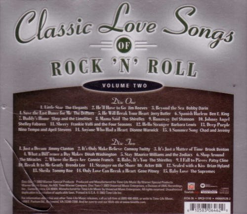 Classic Love Songs Of Rock 'n' Roll Vol. 2