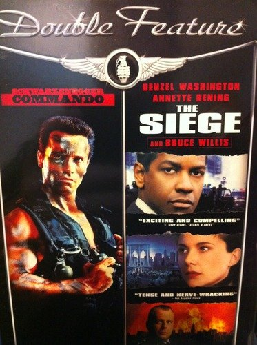 Commando The Siege Double Feature