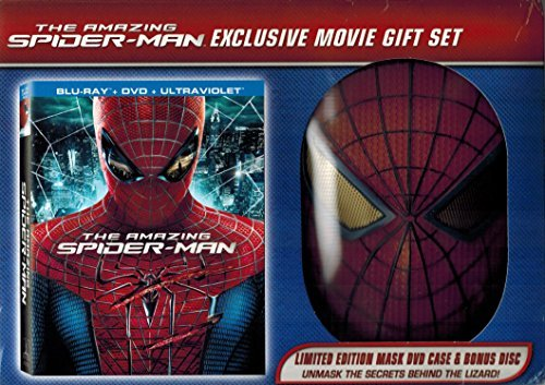 The Amazing Spider Man Limited Edition Blu Ray DVD Limited Edition With Spidey Mask & Bonus Disc