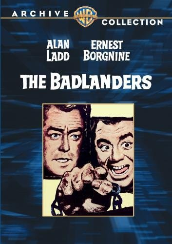 Badlanders Ladd Borgnine Jurado DVD Mod This Item Is Made On Demand Could Take 2 3 Weeks For Delivery