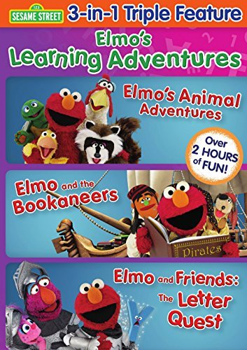 Elmo's Learning Adventures Tri Sesame Street Nr