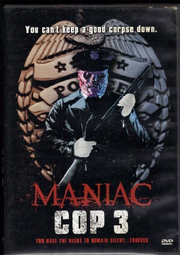 Maniac Cop 3 Badge Of Silence Maniac Cop 3 Badge Of Silence Clr Nr