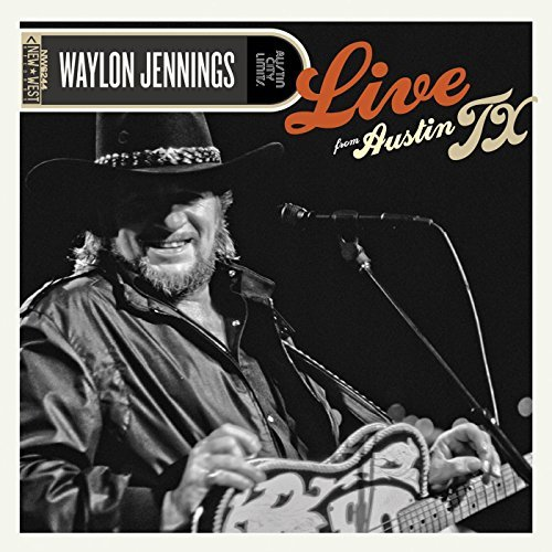 Waylon Jennings Live From Austin Tx Incl. DVD