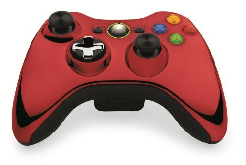 X360ac Wireless Controller Red Chrome