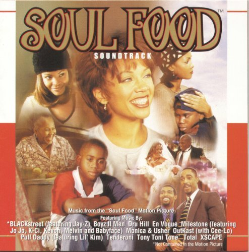 Various Artists Soul Food Blackstreet X Scape Dru Hill Puff Daddy Tony Toni Tone