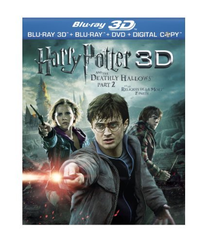 Harry Potter & The Deathly Hal Harry Potter & The Deathly Hal Blu Ray Import Can Ws Blu Ray 3d