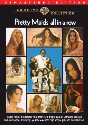 Pretty Maids All In A Row Hudson Dickinson Savalas DVD R Ws R