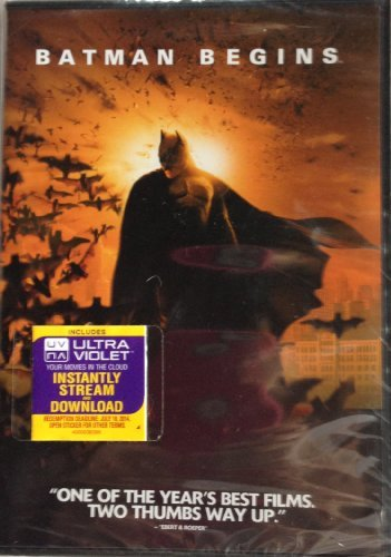 Batman Begins Holmes Bale Oldman DVD + Digital Copy