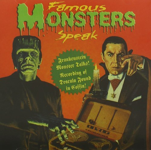 Dracula Frankenstein Famous Monstes Speak