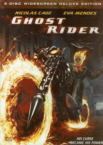 Eva Mendes Matt Long Nicolas Cage Ghost Rider (2 Disc Widescreen Deluxe Edition) D