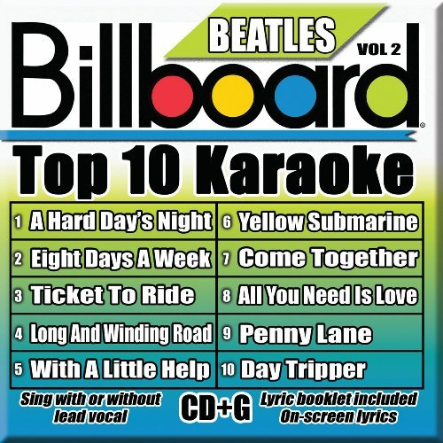 Billboard Top 10 Karaoke Vol. 2 Billboard Beatles Top 1 Karaoke Incl. Cdg 10+10 Song