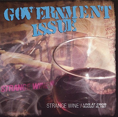 Government Issue Strange Wine Live At Cbgb's