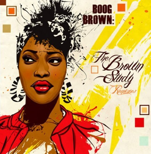 Boog Brown Brown Study Remixes Cardboard Sleeve