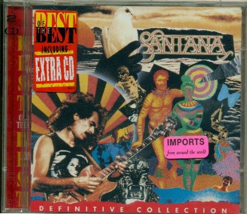 Santana Definitive Collection Import Eu 2 CD Set