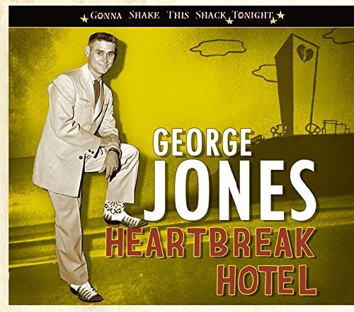 George Jones Heartbreak Hotel Gonna Shake T Digipak Incl. Booklet