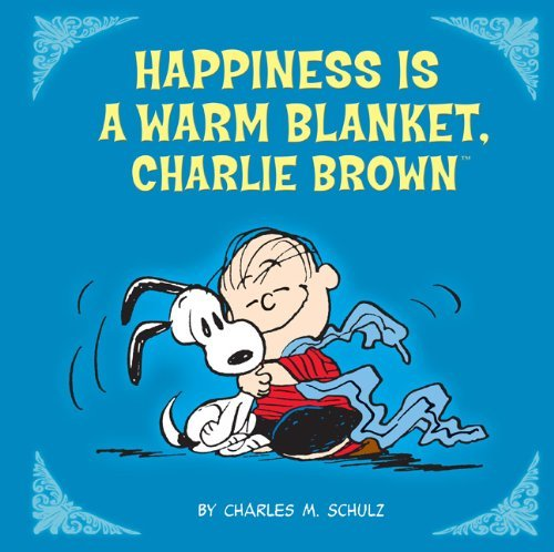Charles M. Schulz Happiness Is A Warm Blanket Charlie Brown