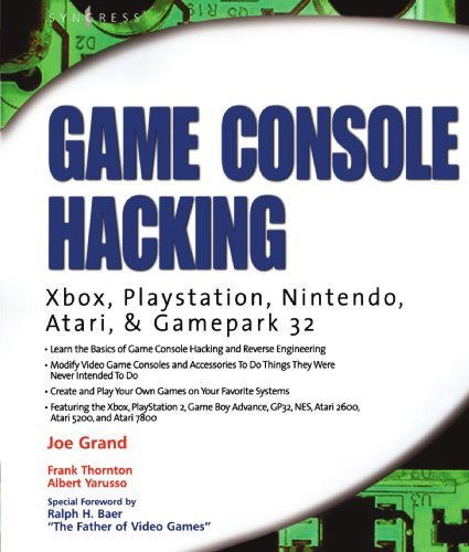 Joe Grand Game Console Hacking Having Fun While Voiding Your Warranty