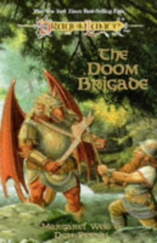 Margaret Weis Don Perrin The Doom Brigade (dragonlance Saga)