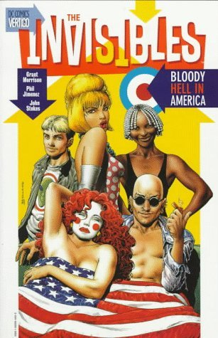 Grant Morrison Invisibles The Bloody Hell In America Vol 04