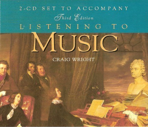 Craig Wright Listening To Music 2 CD