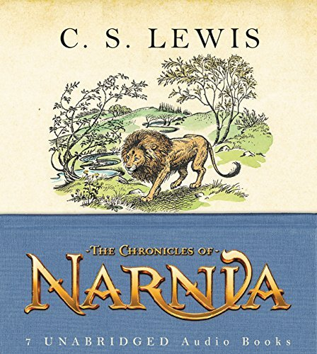 Kenneth Branagh C. S. Lewis The Chronicles Of Narnia Complete 7 Volume CD Box