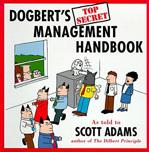 Scott Adams Dogbert's Top Secret Management Handbook