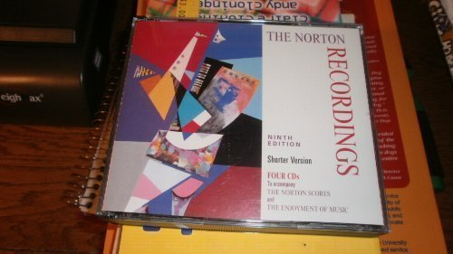 Forney Kristine Machlis Joseph The Norton Recordings To Accompany The Norton Sc