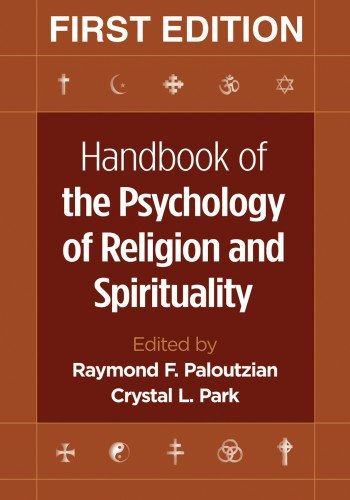 Raymond F. Paloutzian Handbook Of The Psychology Of Religion And Spiritu