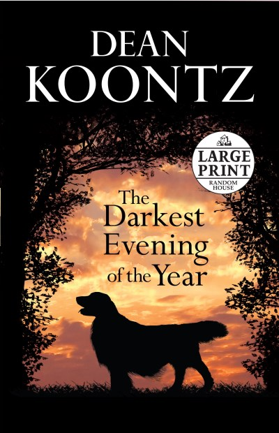 Dean R. Koontz Darkest Evening Of The Year The Large Print