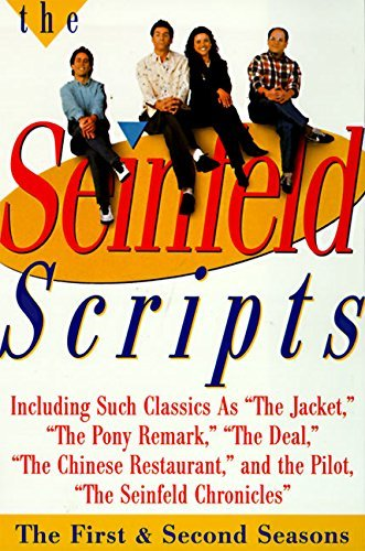Jerry Seinfeld The Seinfeld Scripts The First And Second Seasons