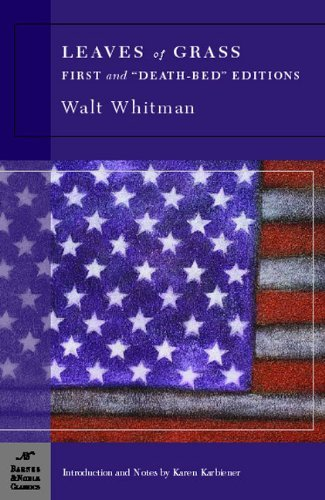 "Walt Whitman Leaves Of Grass First And ""death Bed"" Editions"
