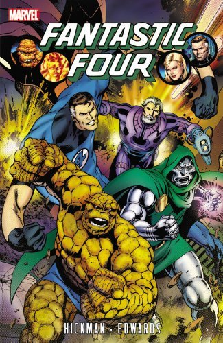 Jonathan Hickman Fantastic Four Volume 3