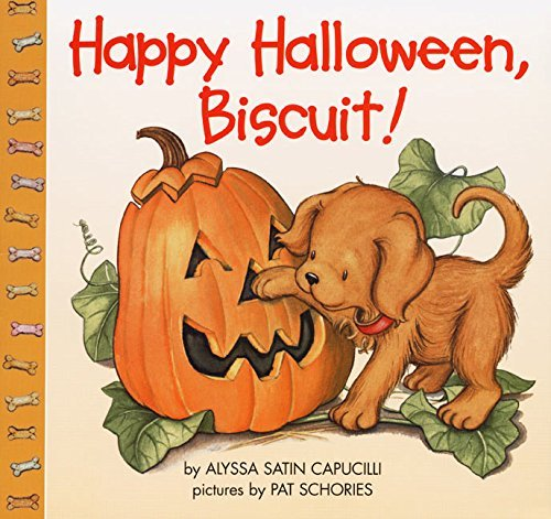 Alyssa Satin Capucilli Happy Halloween Biscuit!