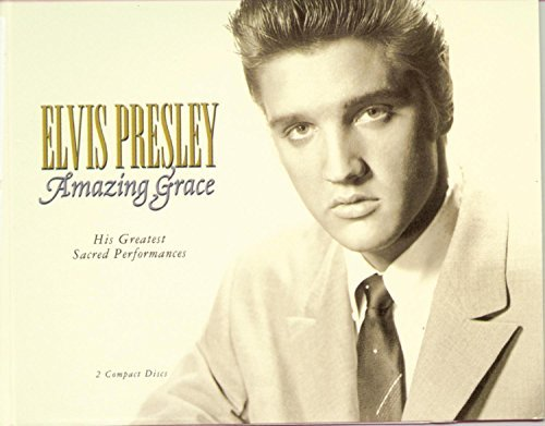Presley Elvis Amazing Grace His Greatest Sac Incl. 32 Pg. Book 2 CD Set