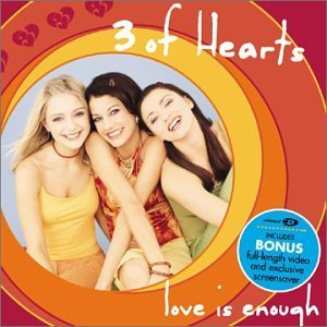 Three Of Hearts Love Is Enough Enhanced CD