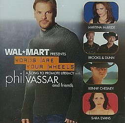Phil Vassar Words Are Your Wheels