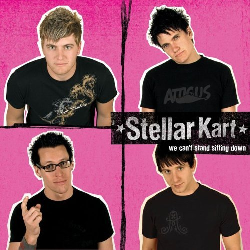 Stellar Kart We Can't Stand Sitting Down CD R
