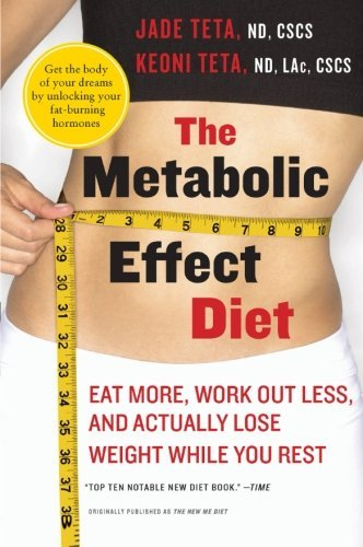 Jade Teta The Metabolic Effect Diet Eat More Work Out Less And Actually Lose Weight