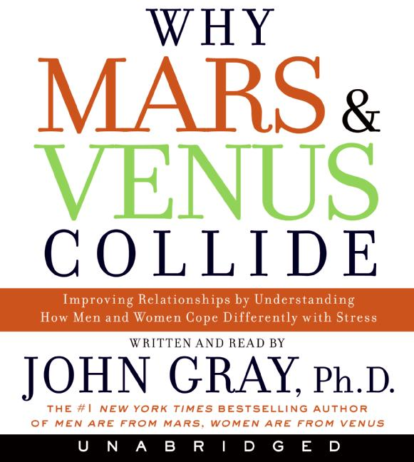 John Gray Why Mars And Venus Collide Improving Relationships By Understanding How Men