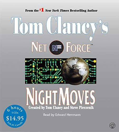 Tom Clancy Tom Clancy's Net Force #3 Night Moves Low Price CD Abridged
