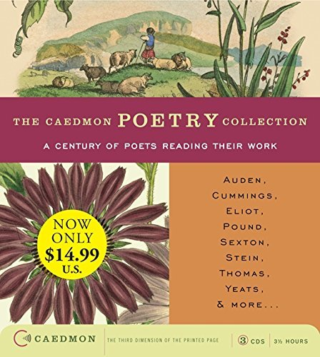 Various Caedmon Poetry Collection A Century Of Poets Reading Their Work Low Price C