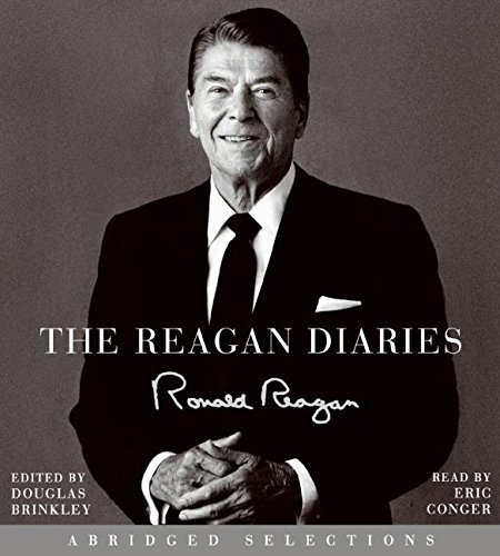 Ronald Reagan The Reagan Diaries Selections CD Abridged